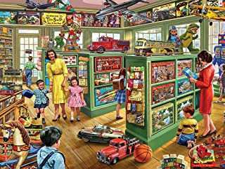 White Mountain Puzzles The Toy Store, 1000 Piece Jigsaw Puzzle