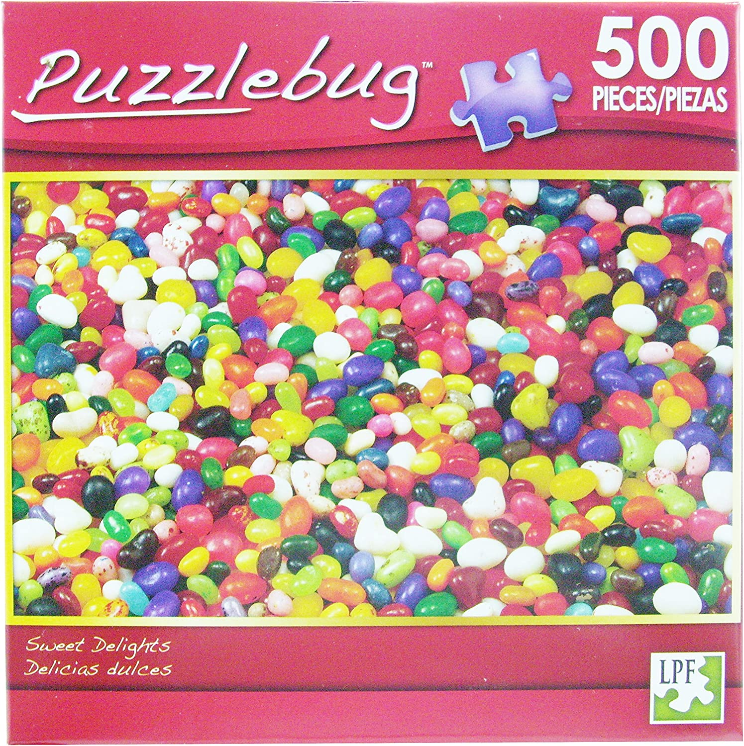 PuzzleBug 500 Piece Puzzle  Sweet Delights by Puzzlebug