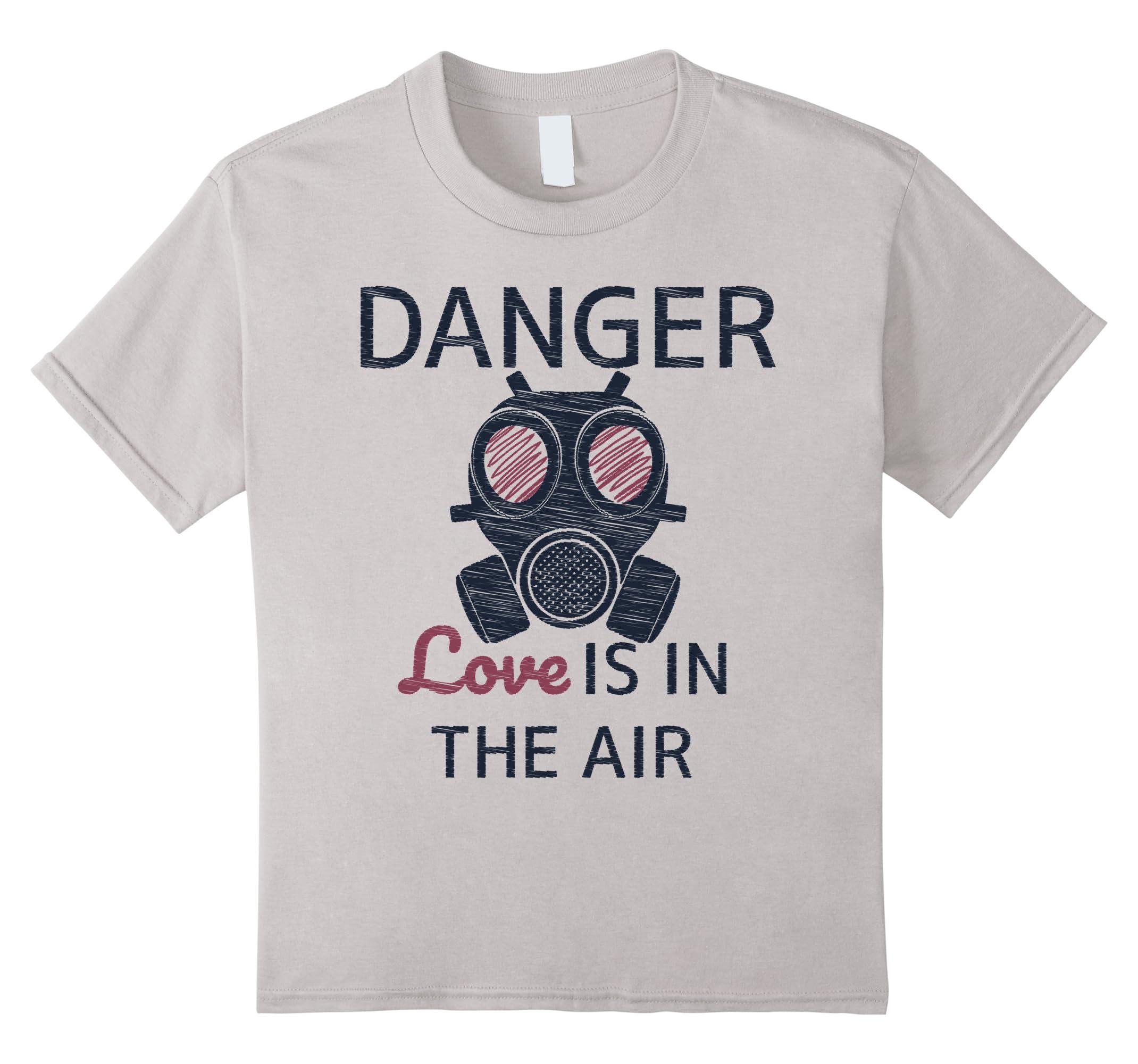 Danger Funny Anti Valentines Day Shirt-Teesml