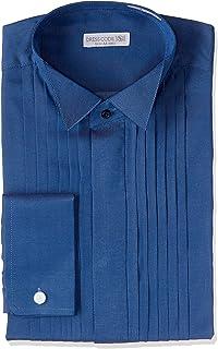 [ドレスコード101] ワイシャツ ウィングカラーシャツ 結婚式・パーティーにピッタリ フォーマル 長袖 SHDC40 メンズ
