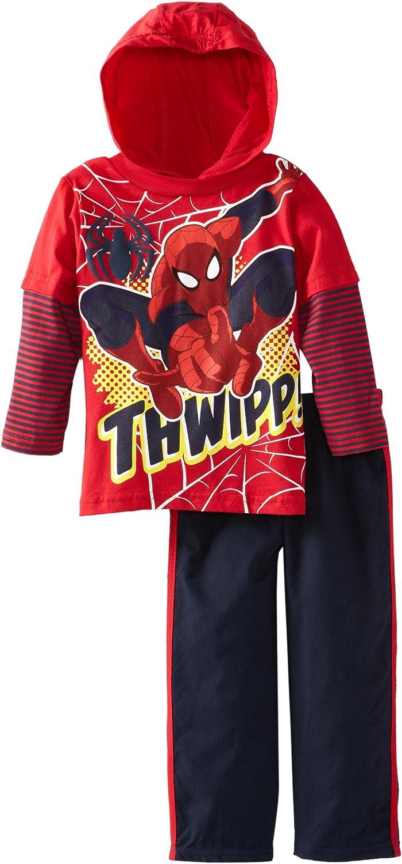 Marvel Boys' Spider-Man Two-Piece Thwipp! Set