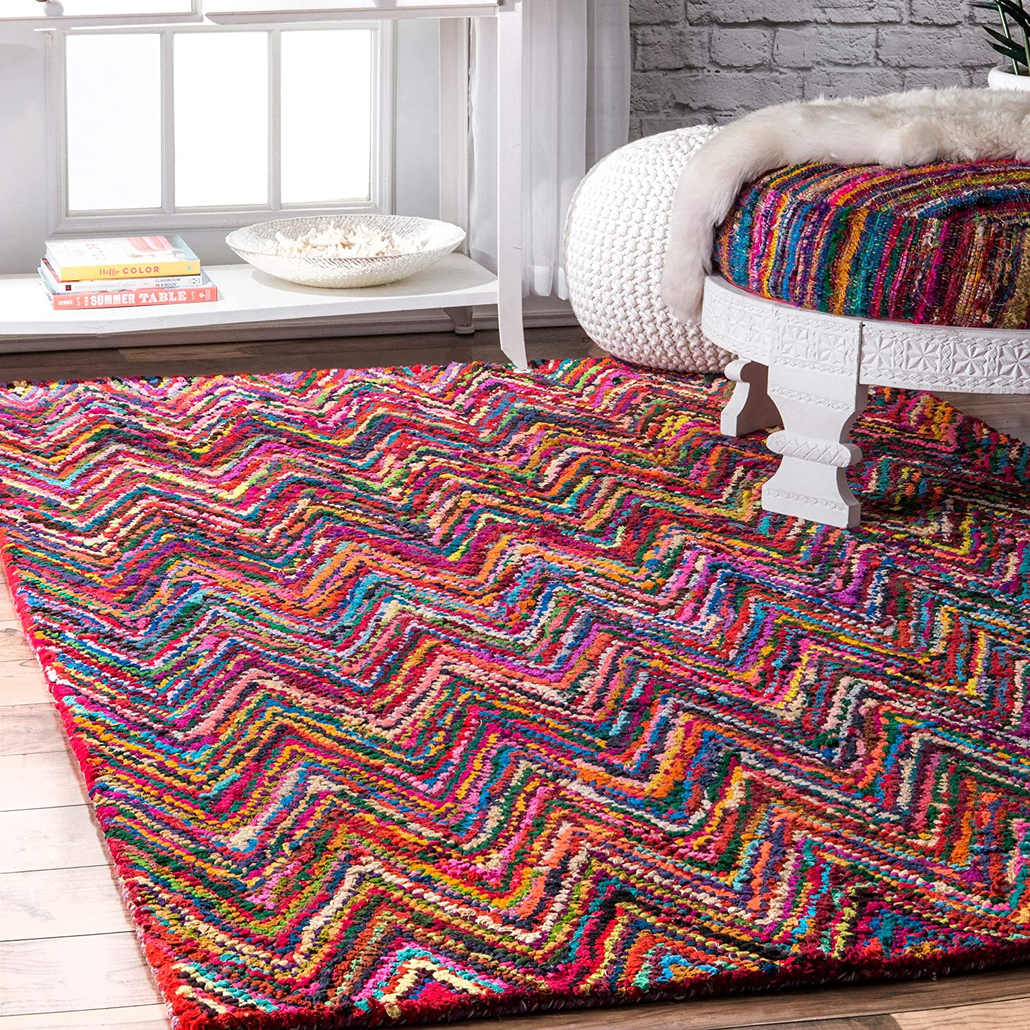 5% OFF nuLOOM Oconnor Hand Braided Area Rug 9' Some reservation 6