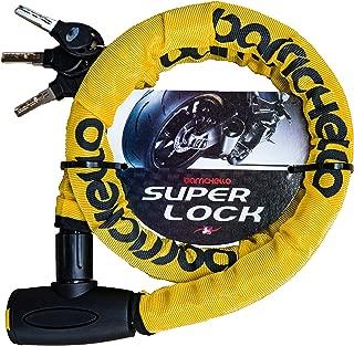Barrichello(バリチェロ) バイクロック ワイヤーロック バイク 自転車 φ(直径)22mm×1200mm チェーンロック 盗難防止 軽量タイプ 保証付き