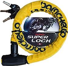 Barrichello(バリチェロ) バイクロック チェーンロック バイク 自転車 φ(直径)22mm×1200mm ワイヤーロック 盗難防止 軽量タイプ 保証付き