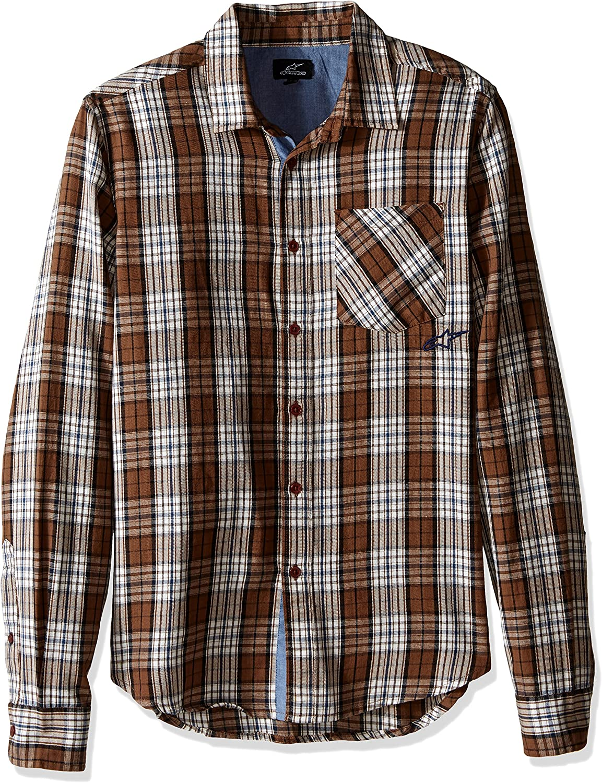 ALPINESTARS Men's Seasonal Wrap Store Introduction Process Shirt Sleeve Long