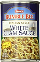 SNOW'S BY BUMBLE BEE Italian Style White Clam Sauce, Gluten Free Food, Canned Food,..