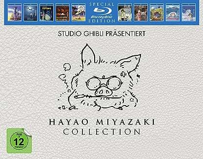Product Image Hayao Miyazaki Collection (Blu-ray)