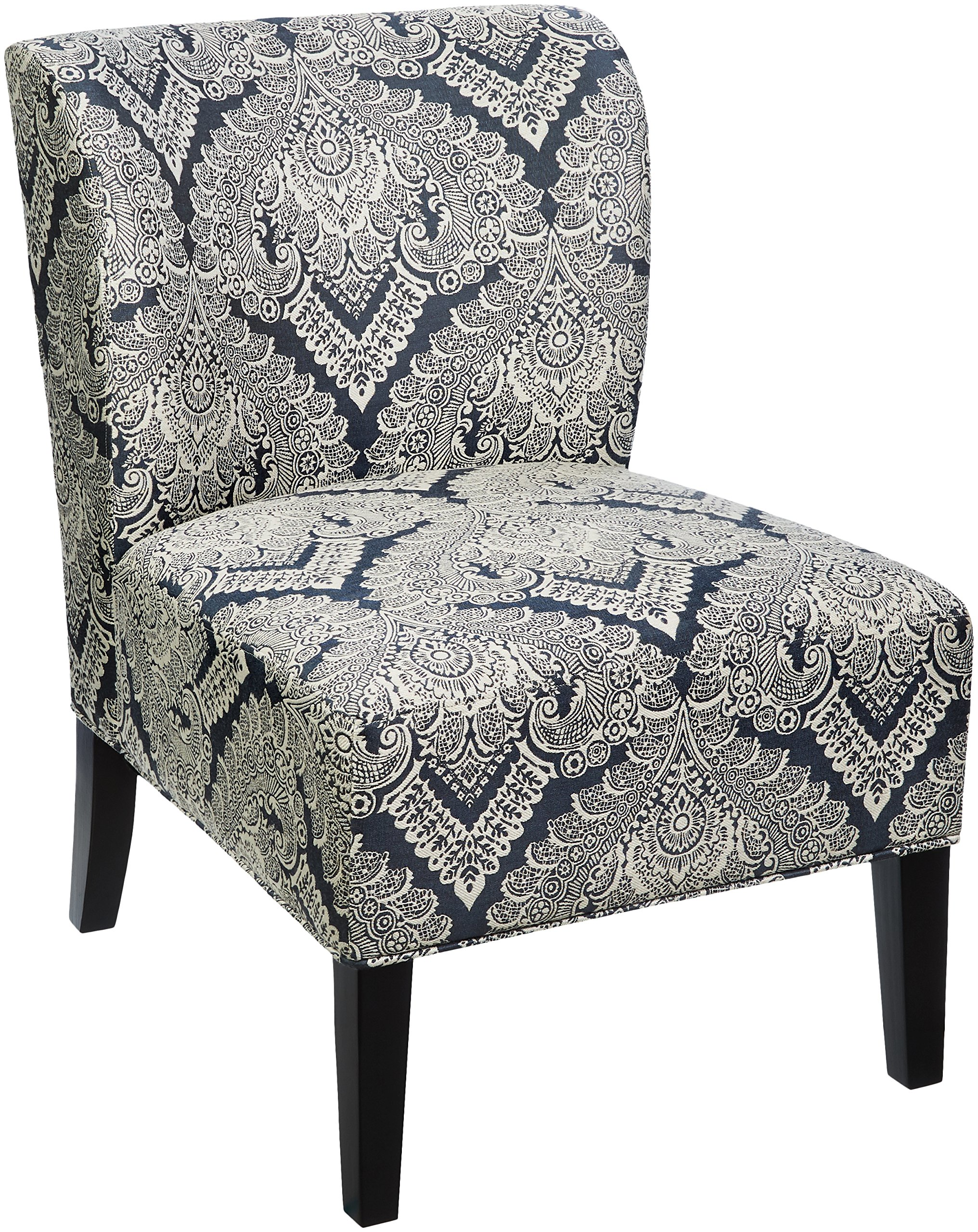 Blue Patterned Accent Chairs Free Patterns