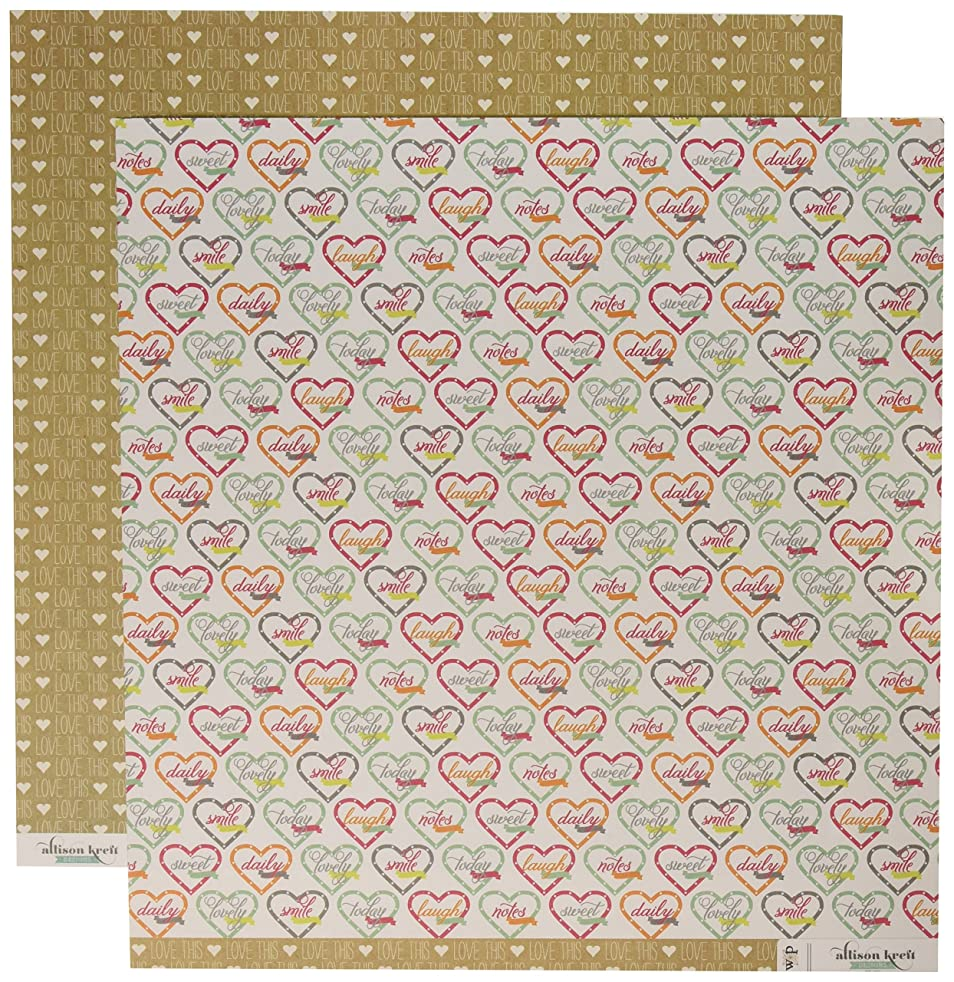 Webster's Pages Sweet Notes Double-Sided Cardstock 12