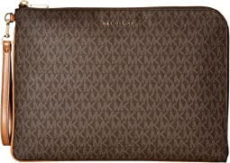 MICHAEL Michael Kors - Mercer Large Tech Zip Clutch