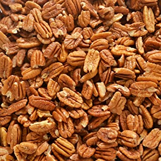 Fresh Shelled Texas Native Pecan Halves - Certified Pesticide-free and Wild-harvested, Bulk 5 Lb.