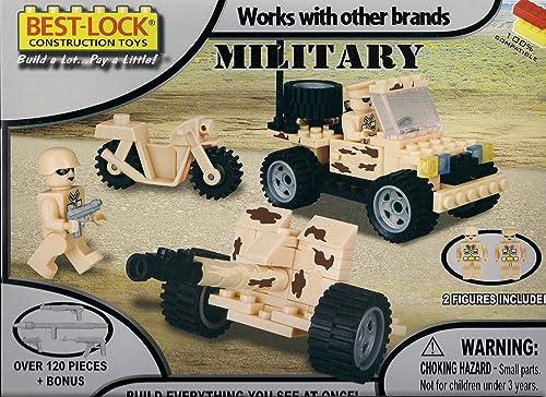 la mejor selección de Best-Lock Construction Toys Toys Toys - Military Set  Con precio barato para obtener la mejor marca.