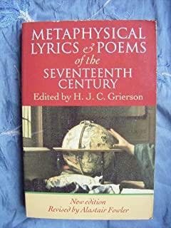 Metaphysical Lyrics and Poems of the Seventeenth Century: Donne to Butler