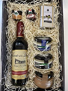 comprar comparacion Cesta navideña de productos gourmet para regalar