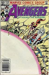 The Avengers #233