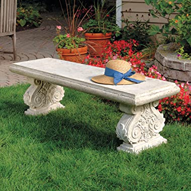 Design Toscano Cambrige Yard Garden Bench