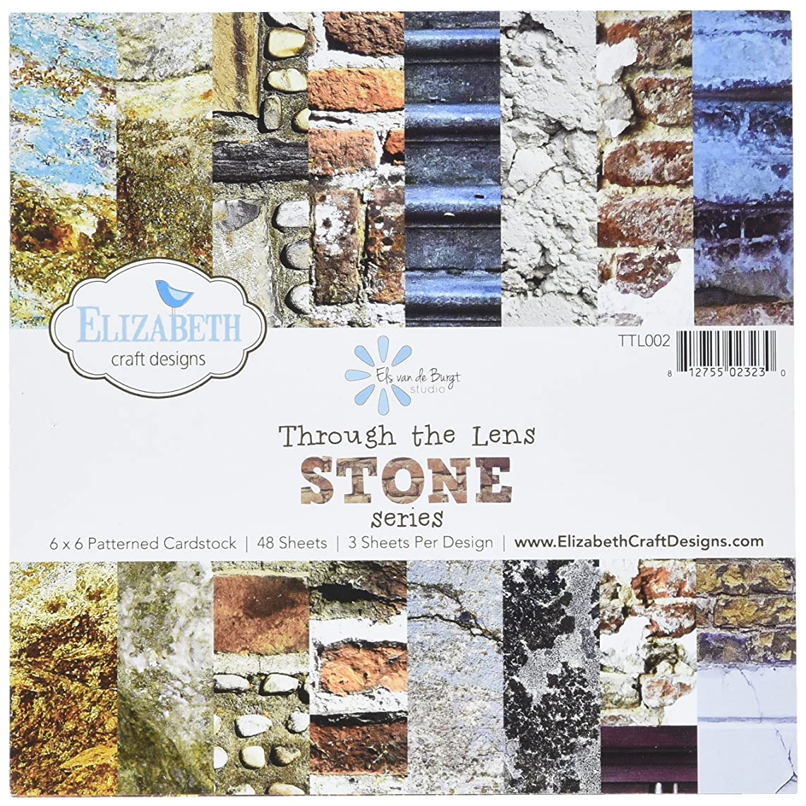 Elizabeth Craft Designs Elizabeth Craft Through The Lens Cardstock 6