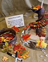 Maple Leaves Memory Sculpture Wedding Guest Book Alternative