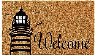 lighthouse welcome mat
