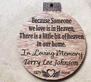 Best christmas ornament for lost loved one Reviews