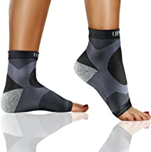 Plantar Fasciitis Sock, Ankle Compression Sleeve Brace, Socks for Men and Women. Arch and Heel Spurs Support. Great for Runners, Sprained Ankle, and Swelling. Instant Pain Relief.