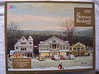 Norman Rockwell Series Textured 1000 Piece Puzzle