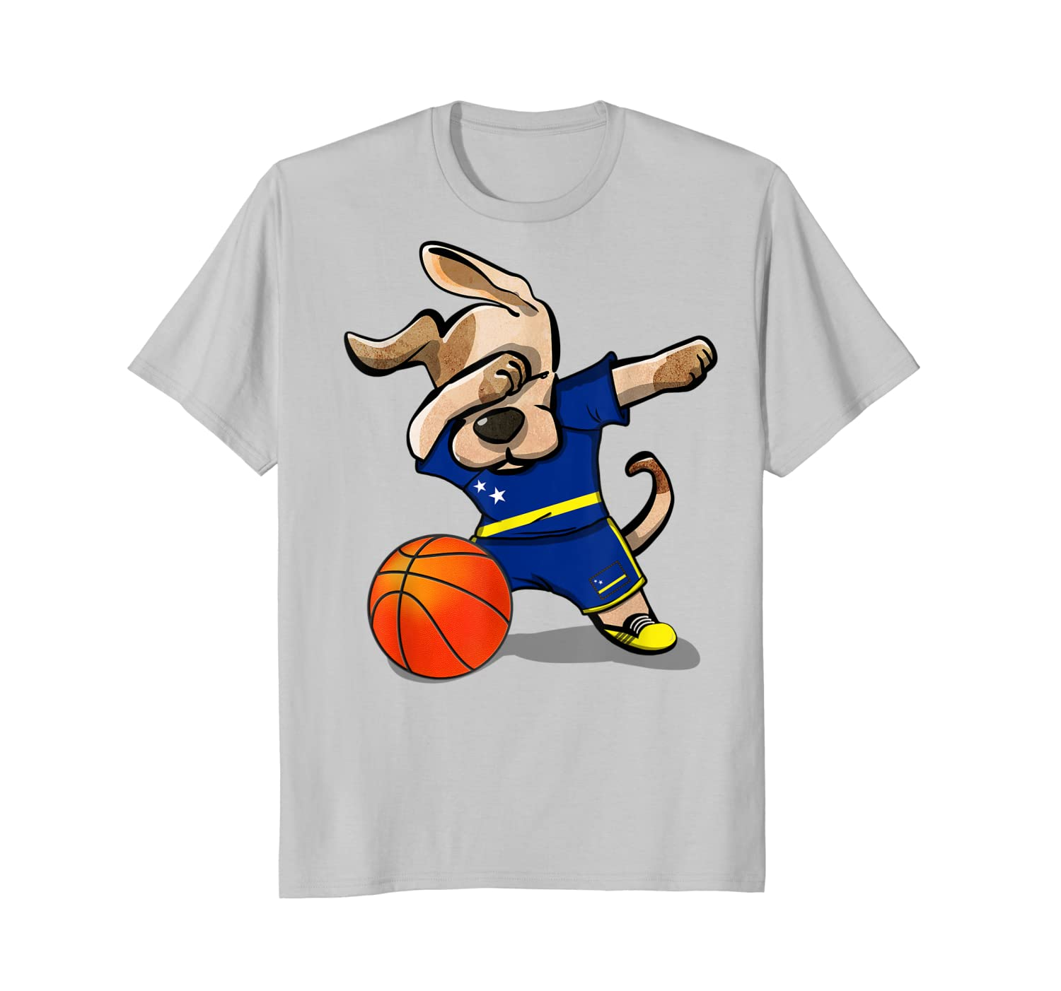 huge discount bdd51 3cdc6 [Featured] Dog Dabbing Curacao Basketball Jersey National Team High Quality