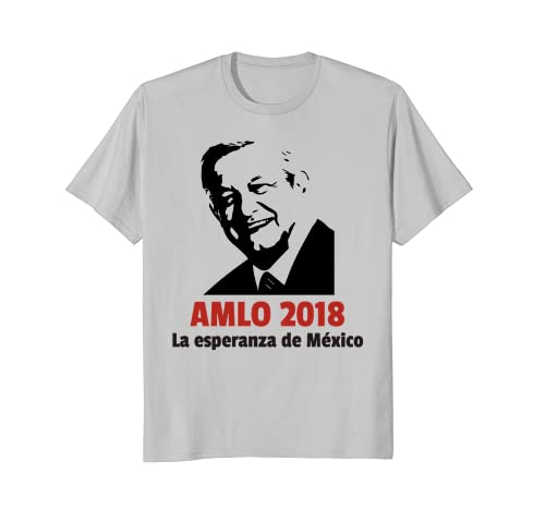 Amazon.com: AMLO 2018 - Andres Manuel Lopez Obrador Shirt Playera Camisa: Clothing