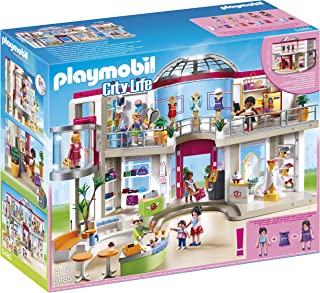 PLAYMOBIL® Furnished Shopping Mall Playset