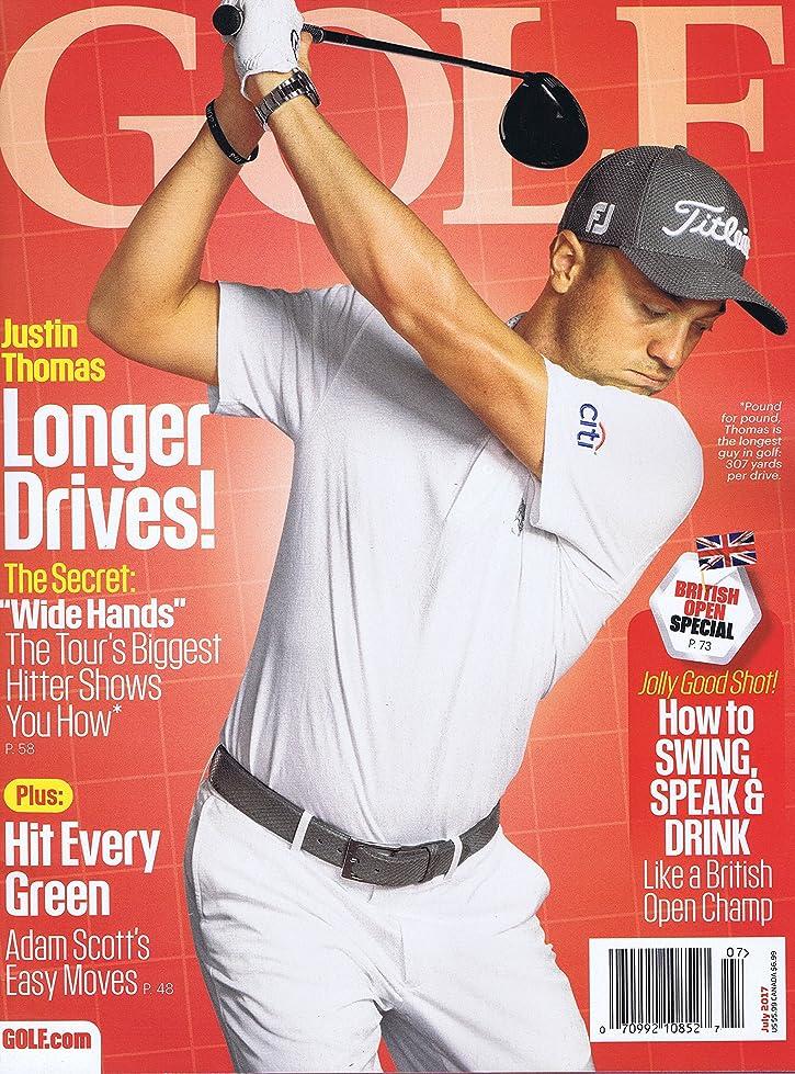 拡張サンドイッチ支給Golf Magazine [US] July 2017 (単号)