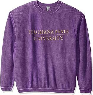 Women's Corded Sweatshirt, Purple, Large