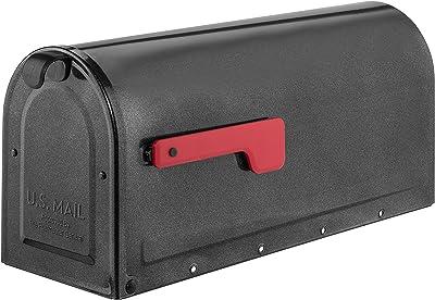 ARCHITECTURAL MAILBOXES 7600P-10 MB1 Mailbox, Medium, Pewter