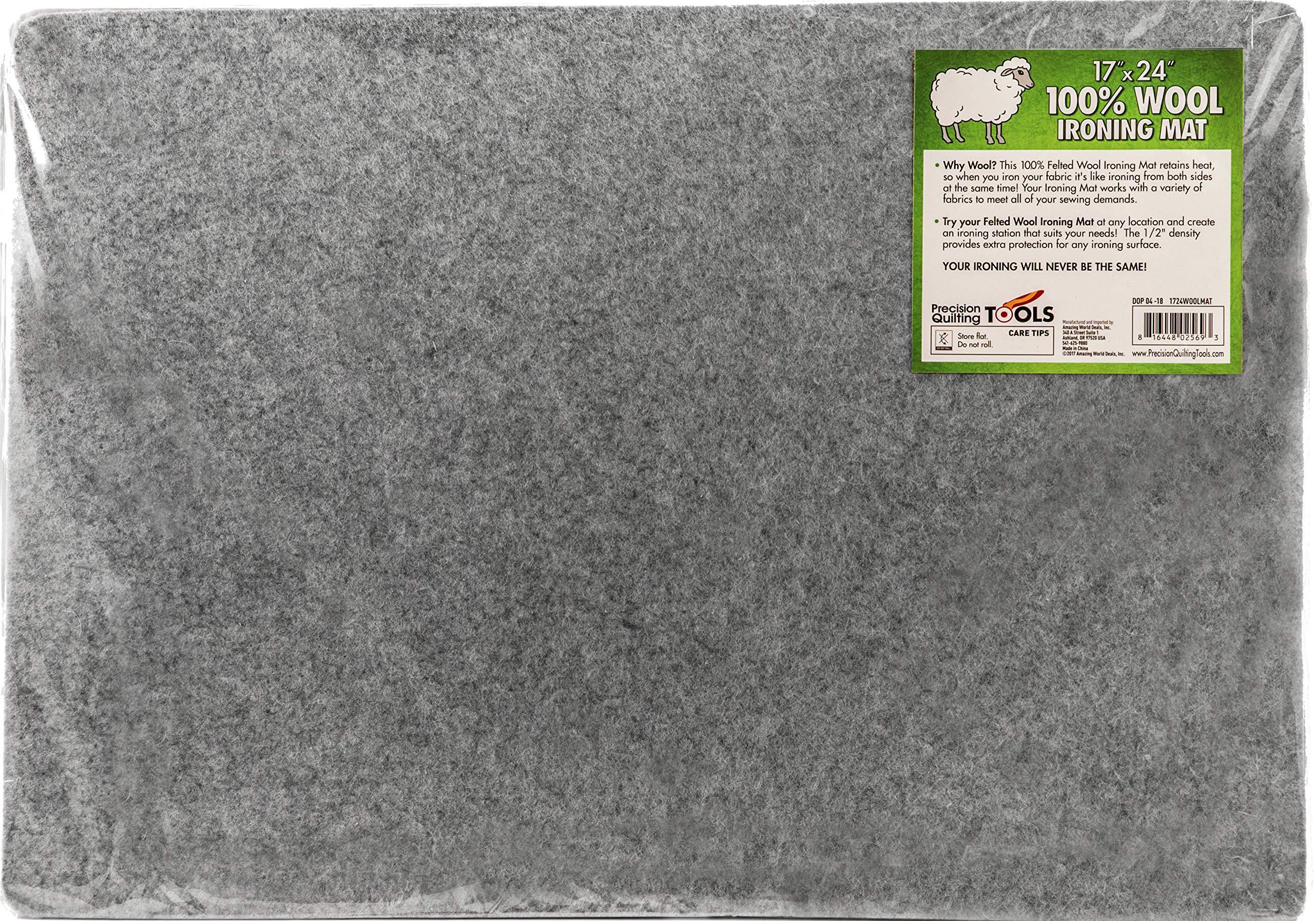 17 24 Wool Ironing Mat