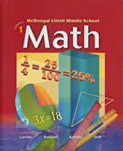 McDougal Littell Middle School Math, Course 1: Student Edition © 2004 2004