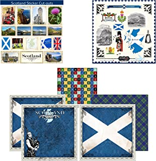 scotland stickers for scrapbooking