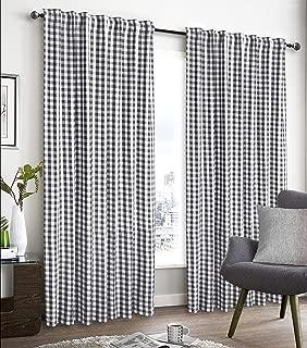 Best farmhouse plaid curtains Reviews