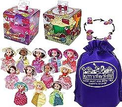 Cupcake Surprise Transforming Scented Princess Dolls Gift Set Bundle with Bonus Matty's Toy Stop...