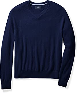 b9f3200adc Amazon Brand - BUTTONED DOWN Men s Cashmere V-Neck Sweater