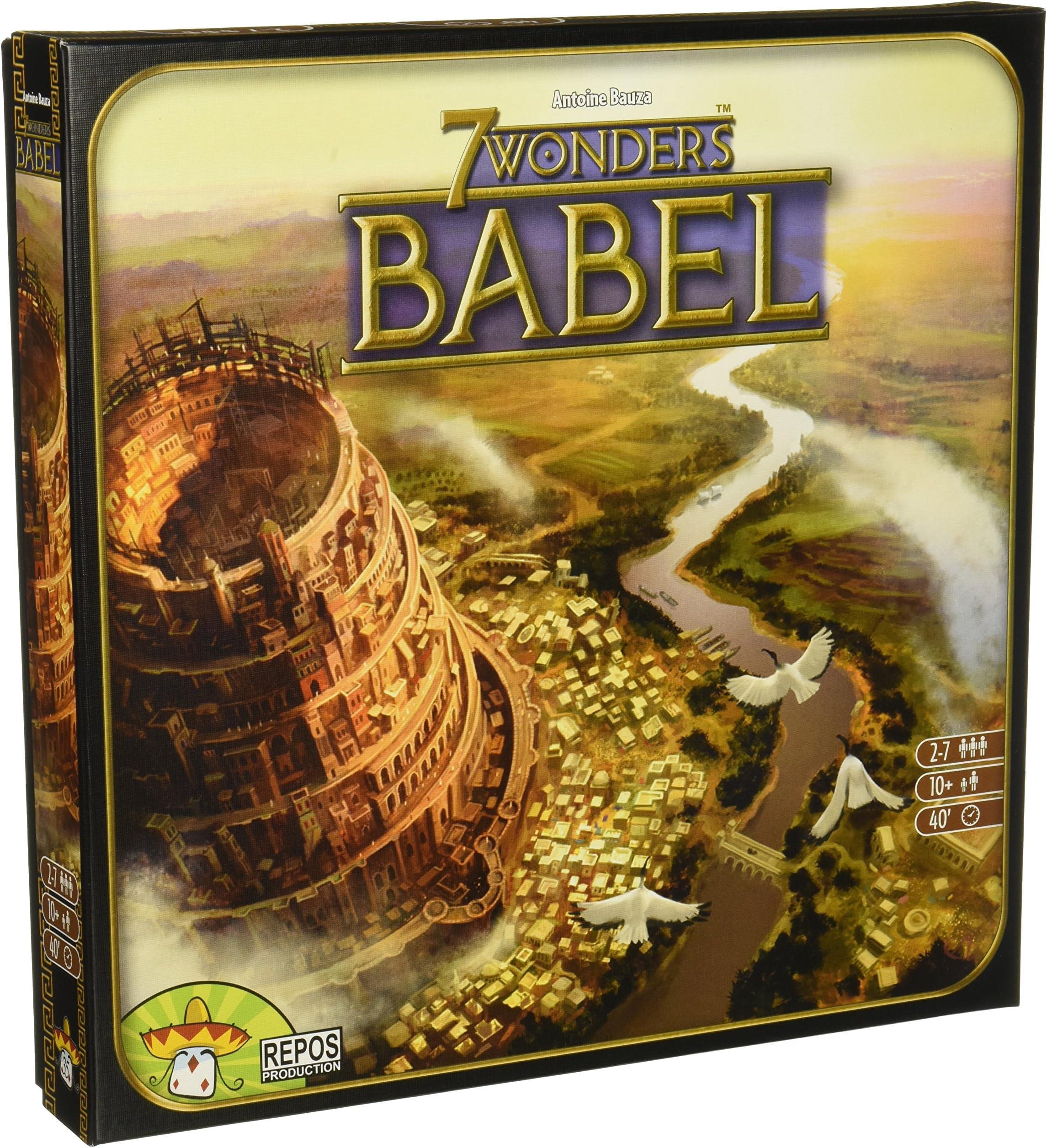 7 Wonders: Babel Expansion