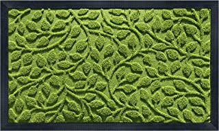 gbHome GH-6824B Premium Antibacterial Door Mat   24 x 36 inches   Indoor Outdoor Doormat w Anti-Skid Rubber Back   Water Absorbent Entryway Mat   Easy to Clean Bootscaper   Low Profile Entry Mat