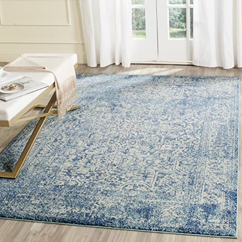 Blue And White Rugs Amazoncom