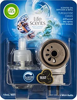 Air Wick Life Scents Electric Plug In Diffuser System, Turquoise Oasis