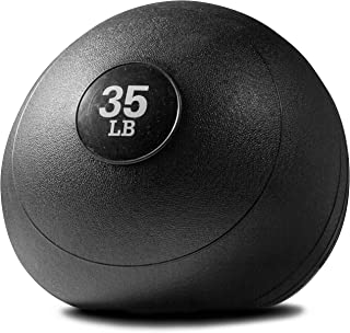 Titan Fitness 35 lb Weighted Slam Spike Ball Sport Rubber Exercise Workout