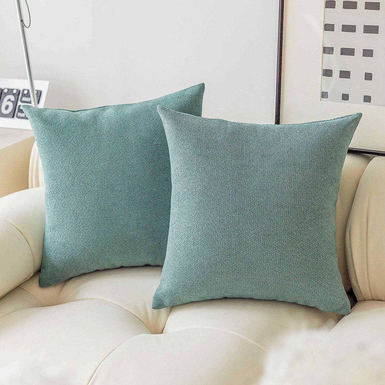 Home Brilliant Aqua Euro Shams Industry No. 1 Pillow Co Modern Trust Decorative Throw