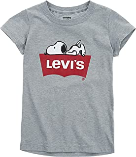 Levi's Girls' Big Batwing T-Shirt