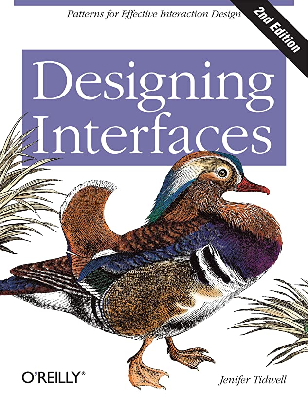 皮マイクロプロセッサスプーンDesigning Interfaces: Patterns for Effective Interaction Design (English Edition)