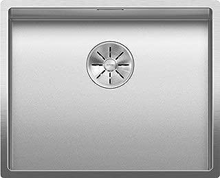 Blanco 铂浪高 523386 CLARON 500-U Durinox 厨房水槽 不锈钢 500 毫米 水槽宽度
