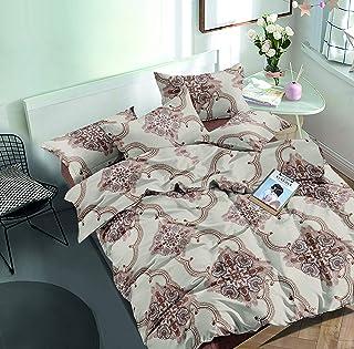 Flower Comforter 6Pcs Set King 240x260cm, AI1211K, multi color