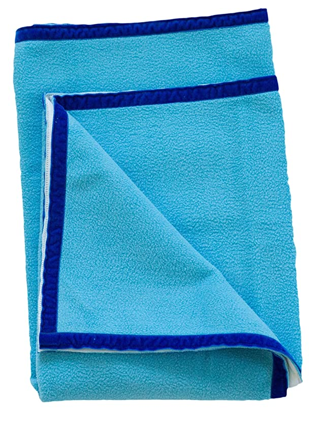 summer & sage, Classic Baby Plush Waterproof Towel, small, ocean