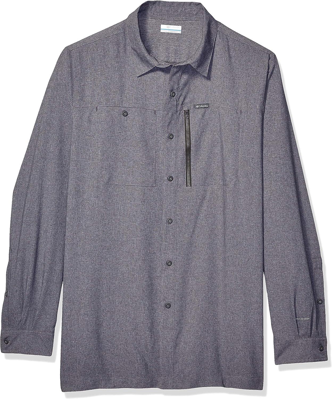 Columbia Mens Pilsner Peak Iv Long Sleeve Shirt